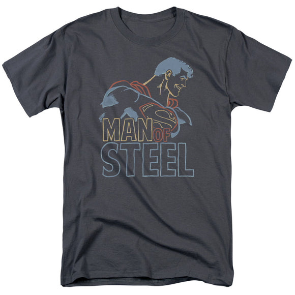 Men's DC Comics Superman Colored Lines Tee