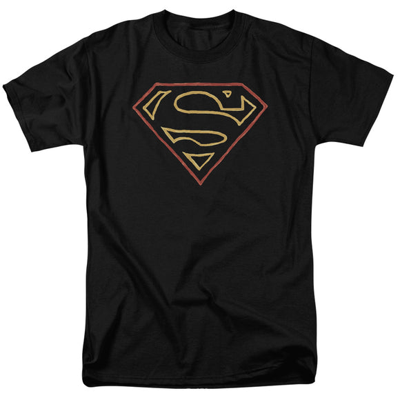 Men's DC Comics Superman Colored Shield Tee