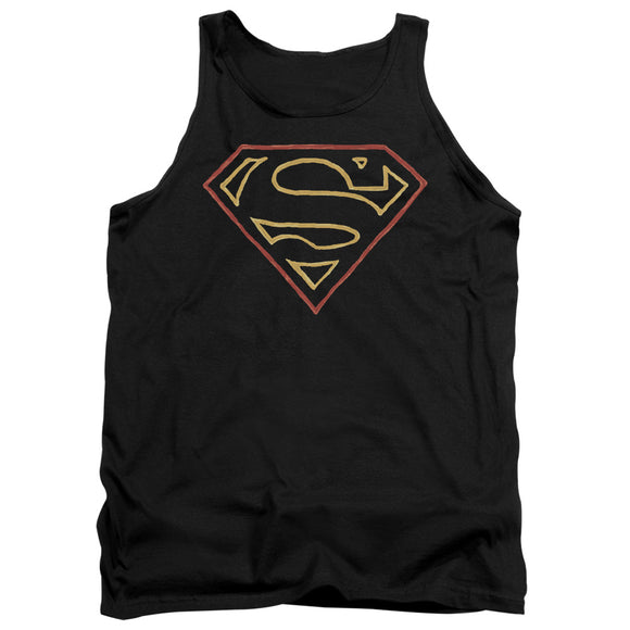 Men's DC Comics Superman Colored Shield Tank Top