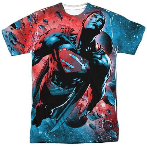 Men's DC Comics Superman Red Sun Sublimated Tee