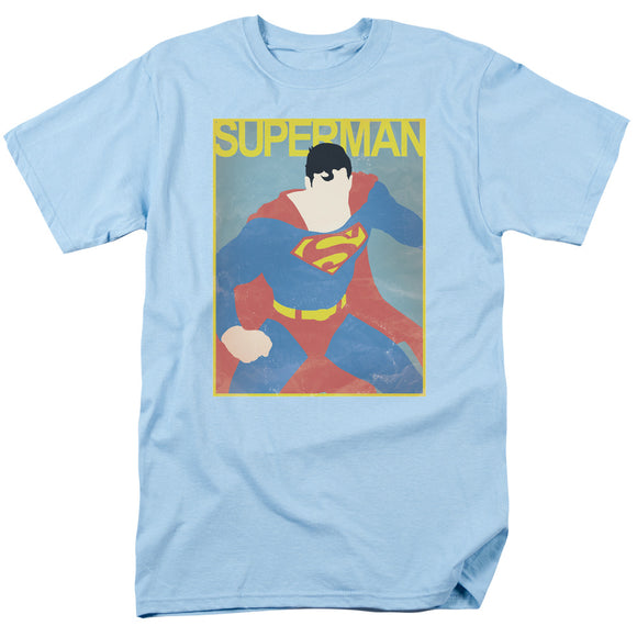 Men's DC Comics Superman Simple SM Poster Tee