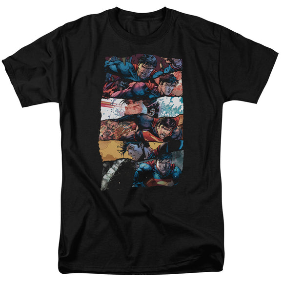 Men's DC Comics Superman Torn Collage Tee