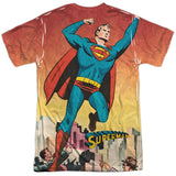 Men's DC Comics Superman City Flying Sublimated Tee