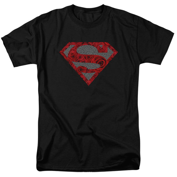 Men's DC Comics Superman Elephant Rose Shield Tee