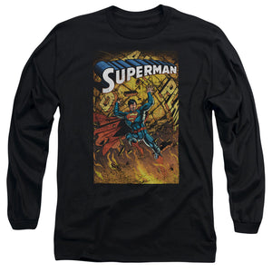 Men's DC Comics Superman One Long Sleeve Tee