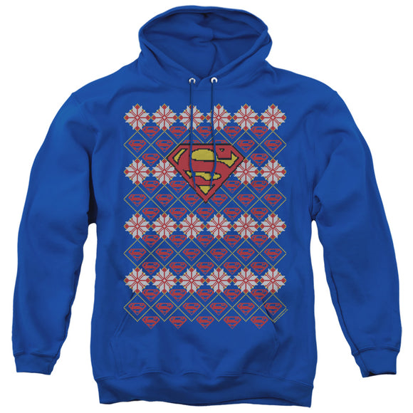 MEN'S SUPERMAN SUPERMAN SWEATER PULLOVER HOODIE