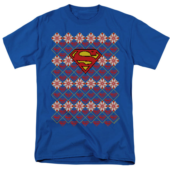 MEN'S SUPERMAN SUPERMAN SWEATER TEE