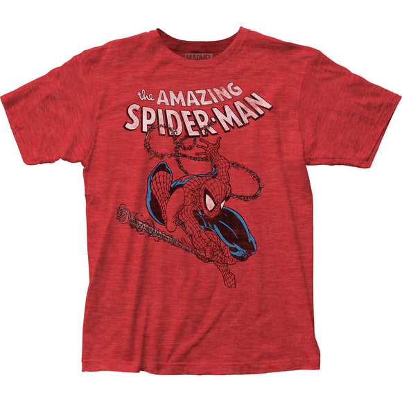 MEN'S MARVEL SPIDER-MAN SPIDEY SWINGING TEE