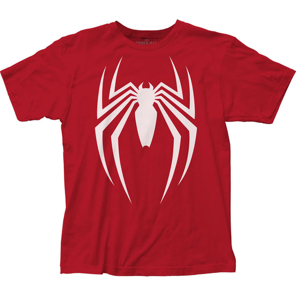 MEN'S MARVEL SPIDER-MAN VIDEO GAME LOGO TEE