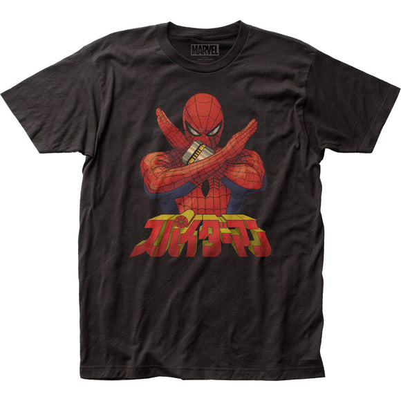 MEN'S MARVEL SPIDER-MAN JAPANESE SPIDER-MAN TEE