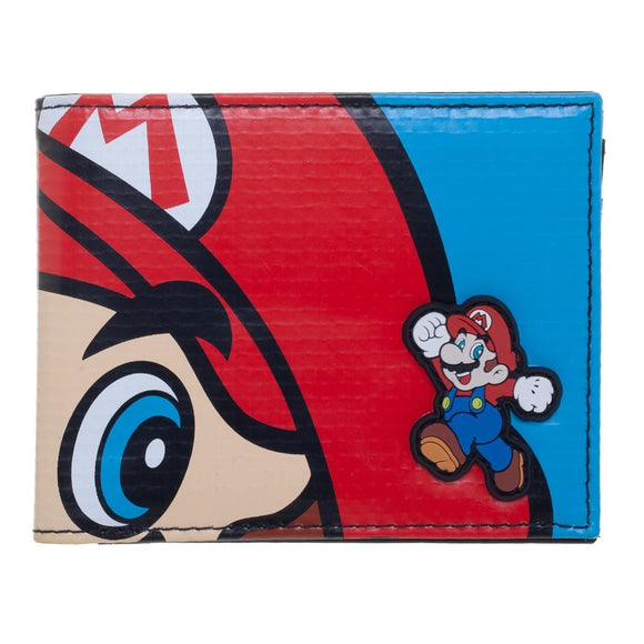 SUPER MARIO VINYL SIGN BI-FOLD WALLET