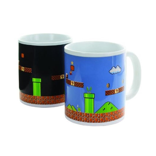 SUPER MARIO BROS. HEAT CHANGING MUG - COLLECTORS EDITION