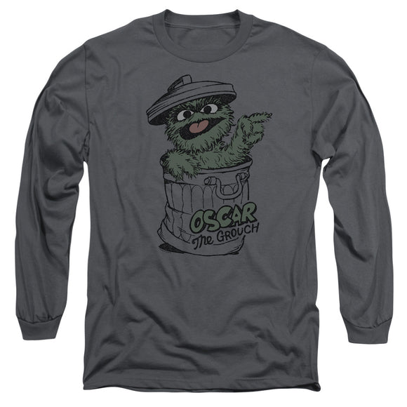 MEN'S SESAME STREET EARLY GROUCH LONG SLEEVE TEE