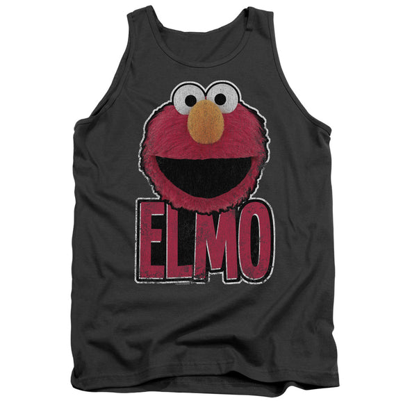 MEN'S SESAME STREET ELMO SMILE TANK TOP