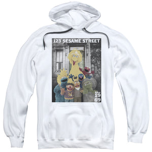 MEN'S SESAME STREET BEST ADDRESS PULLOVER HOODIE