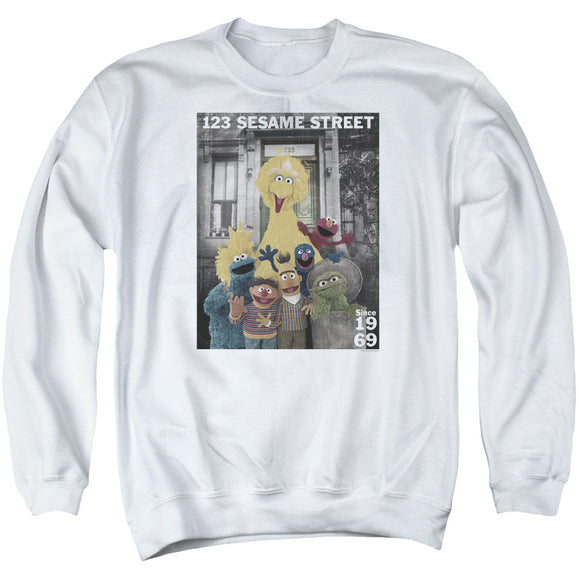 MEN'S SESAME STREET BEST ADDRESS SWEATSHIRT