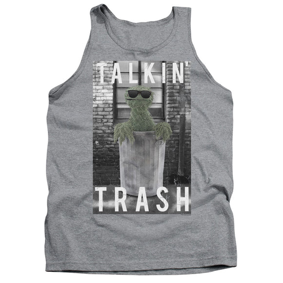 MEN'S SESAME STREET TALKIN TRASH TANK TOP