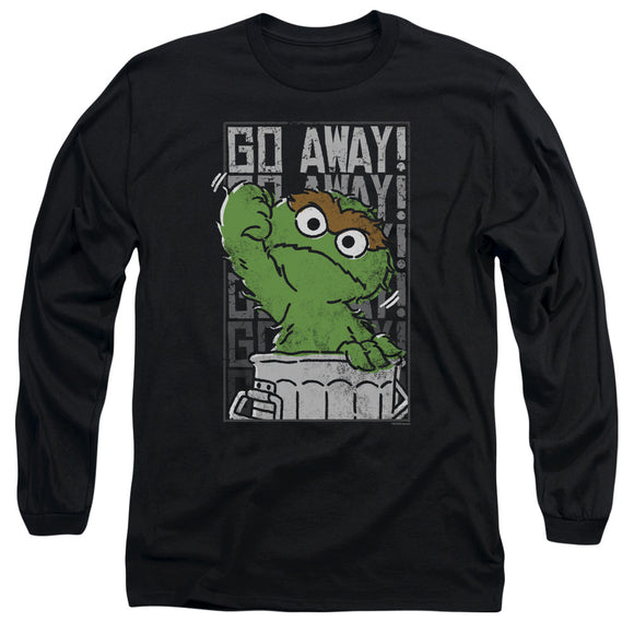 MEN'S SESAME STREET GO AWAY LONG SLEEVE TEE
