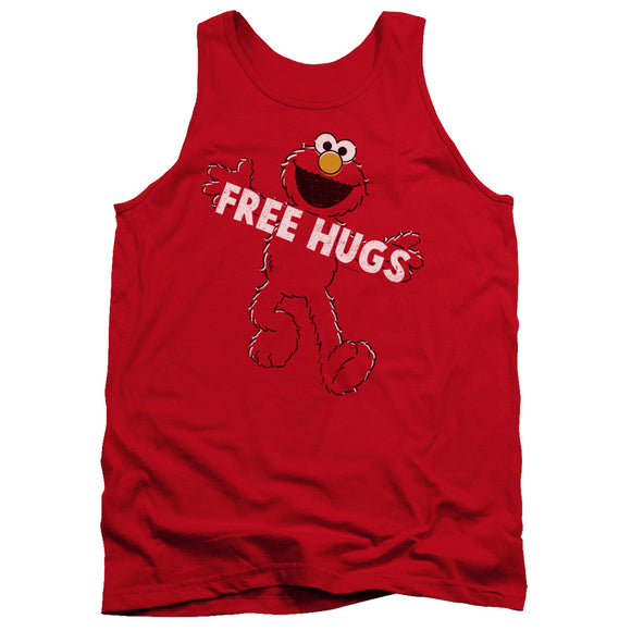 MEN'S SESAME STREET FREE HUGS TANK TOP