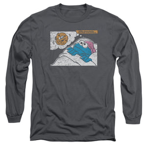 MEN'S SESAME STREET MEANWHILE LONG SLEEVE TEE