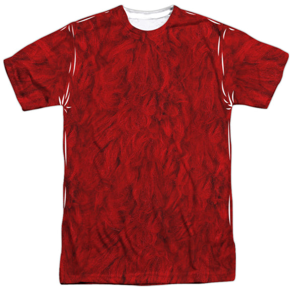 MEN'S SESAME STREET ELMO COSTUME SUBLIMATED TEE