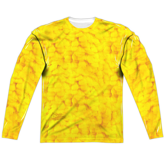 MEN'S SESAME STREET BIG BIRD COSTUME SUBLIMATED LONG SLEEVE TEE