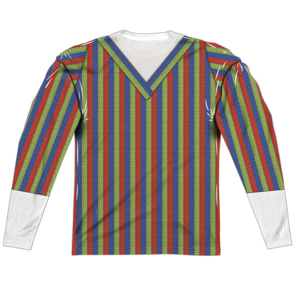MEN'S SESAME STREET BERT COSTUME SUBLIMATED LONG SLEEVE TEE