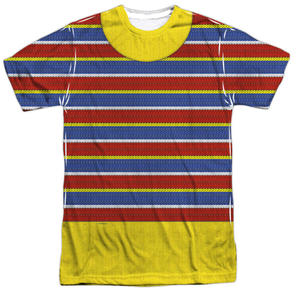 MEN'S SESAME STREET ERNIE COSTUME SUBLIMATED TEE