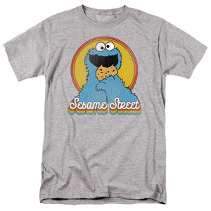 MEN'S SESAME STREET COOKIE MONSTER LAYERS TEE