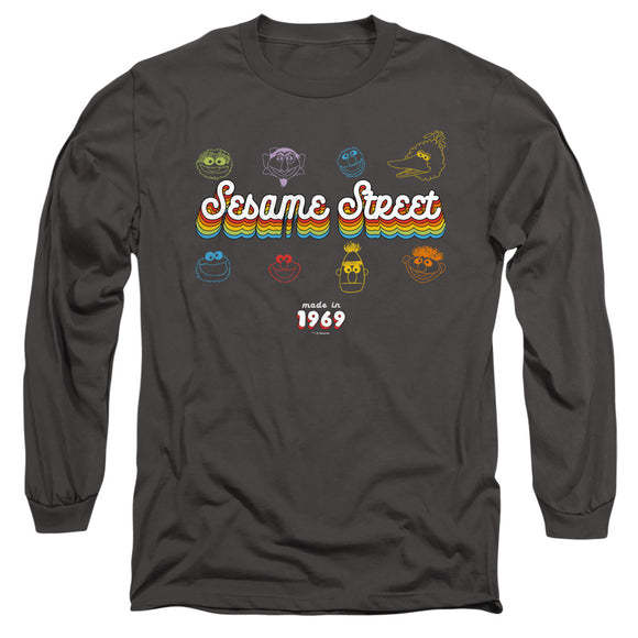MEN'S SESAME STREET MADE IN 1969 LONG SLEEVE TEE