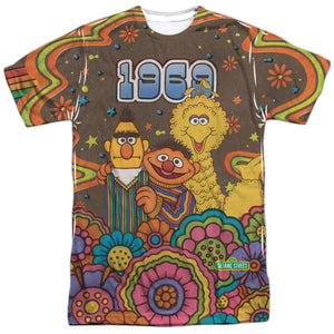MEN'S SESAME STREET PSYCHEDELIC 69 SUBLIMATED TEE