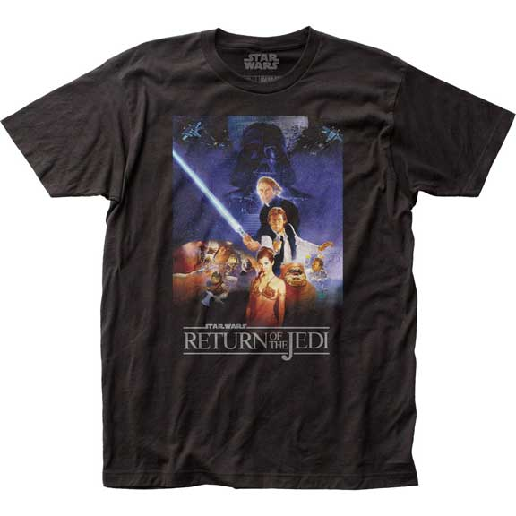 Men's Star Wars Return of the Jedi Poster Tee