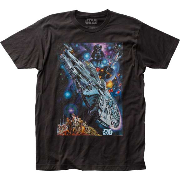 Men's Star Wars 1978 Japanese Poster Tee
