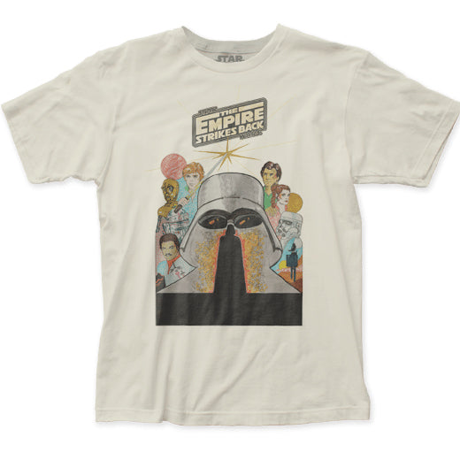 Men's Star Wars Empire Strikes Back Marker Poster Tee