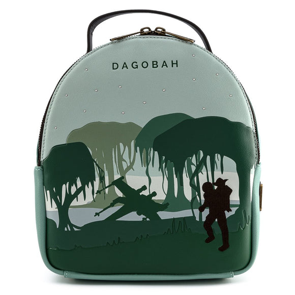LOUNGEFLY STAR WARS DAGOBAH BACKPACK SET