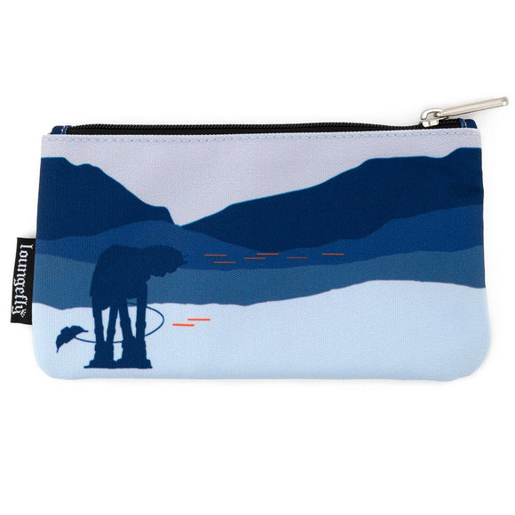 LOUNGEFLY STAR WARS HOTH AT-AT NYLON POUCH