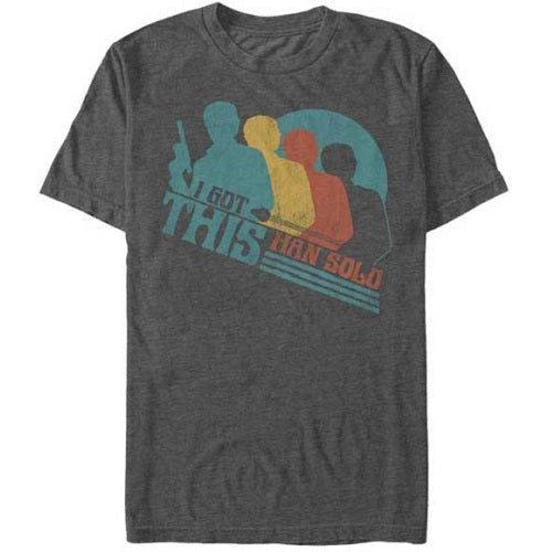 Men's Star Wars Han Solo Retro I Got This Tee - Blue Culture Tees