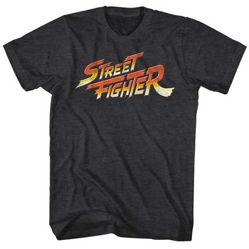 MEN'S STREET FIGHTER LOGO LIGHTWEIGHT TEE