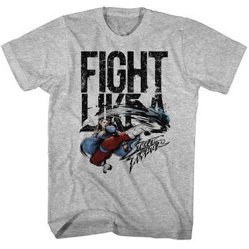 MEN'S STREET FIGHTER FIGHT LIKE A LIGHTWEIGHT TEE
