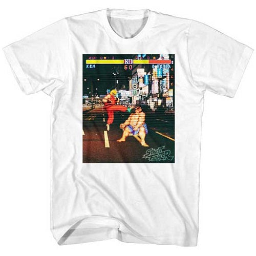 MEN'S STREET FIGHTER REAL STREET FIGHTER LIGHTWEIGHT TEE