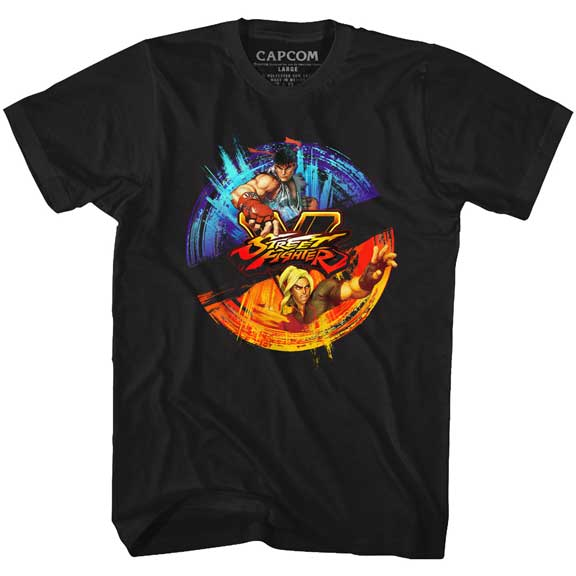 MEN'S STREET FIGHTER TWO COLORS TEE