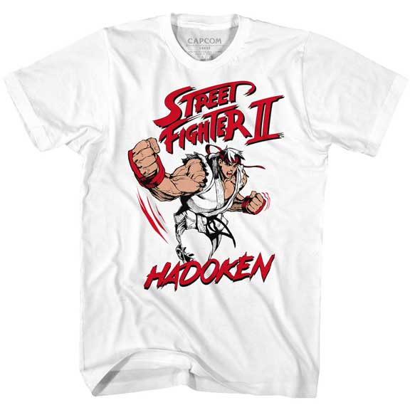 MEN'S STREET FIGHTER HADOUKEN TEE