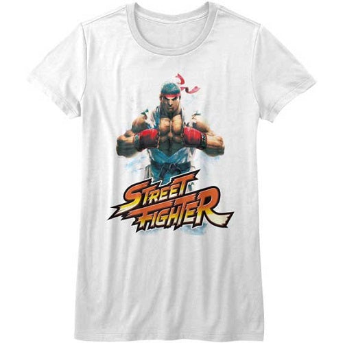 WOMEN'S STREET FIGHTER RYU TEE