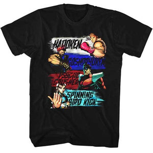 MEN'S STREET FIGHTER SHOW ME YOUR MOVES LIGHTWEIGHT TEE