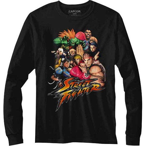 MEN'S STREET FIGHTER STFTR LONG SLEEVE TEE