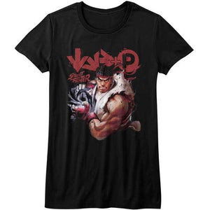 WOMEN'S STREET FIGHTER MORE TEE