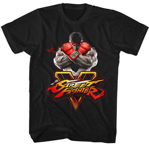 MEN'S STREET FIGHTER SFV KEY LIGHTWEIGHT TEE