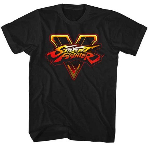 MEN'S STREET FIGHTER SFV LOGO LIGHTWEIGHT TEE