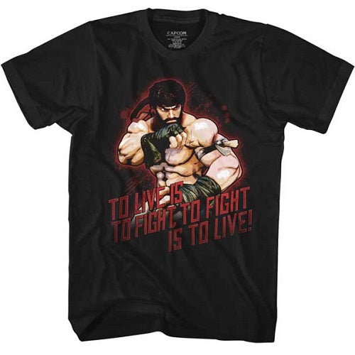 MEN'S STREET FIGHTER HOT RYU LIGHTWEIGHT TEE