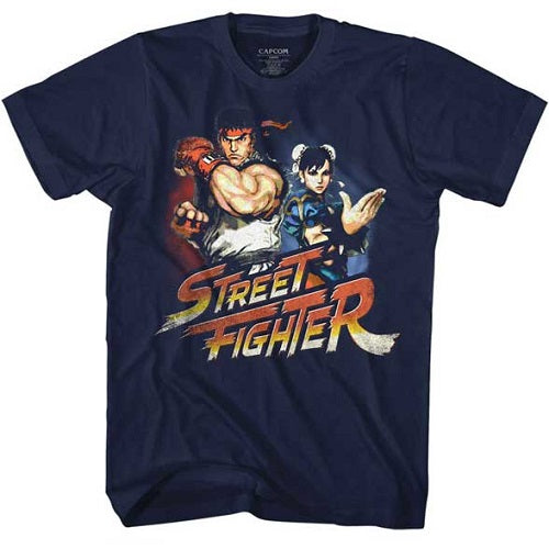 MEN'S STREET FIGHTER RYUCHUNLI LIGHTWEIGHT TEE